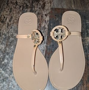 "Tory burch jelly sandals ""mini miller"""
